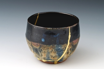 A Kintsugi cup  Image Found Here